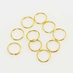 Jump ring, 0.8cm, 5 grams, (LJP127)